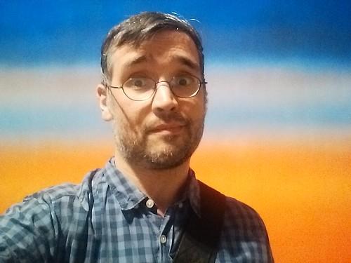 Me in front of Daybreak (1983) #toronto #artgalleryofontario #ritaletendre #letendreago #me #selfie