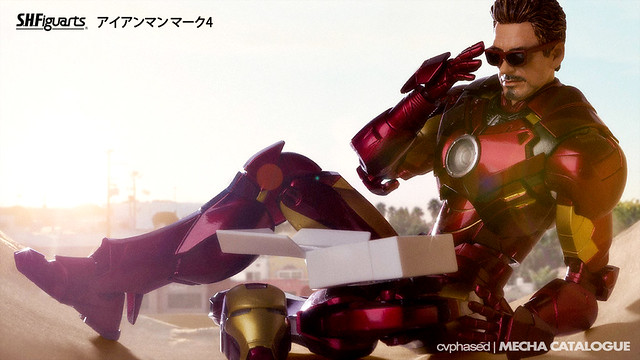 Tamashii Web Exclusive - S.H.Figuarts Iron Man Mark 4