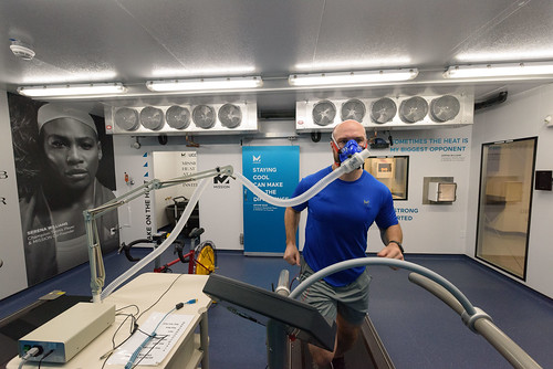 Treadmill in KSI heat lab