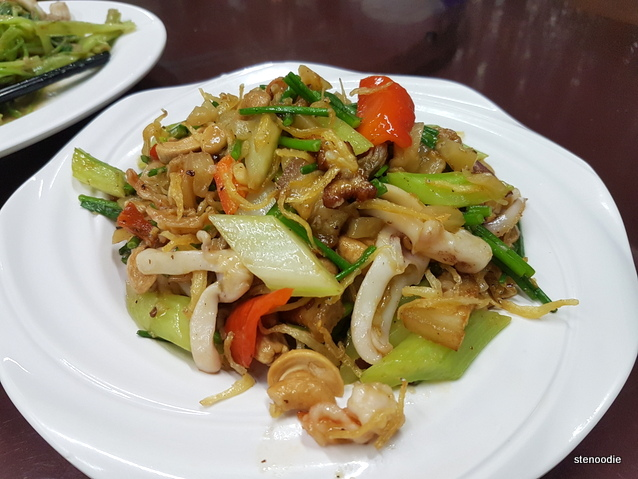 Stir Fry Mixed Vegetable Tung Kee Style