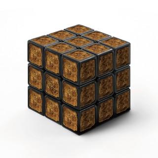 臻至究極的難度!!日清杯麵 謎肉 × ルービックキューブ【謎肉魔術方塊】謎肉キューブ 這到底是要怎麼玩啦!!