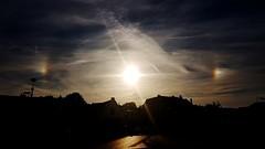 Sun dogs - Hilversum - 2017-08-07