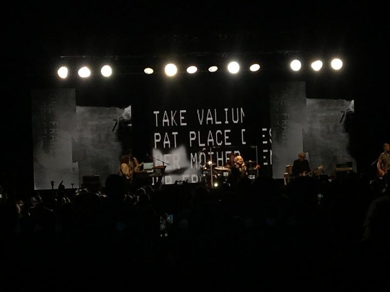 Rage + Rapture tour. Garbage and Blondie