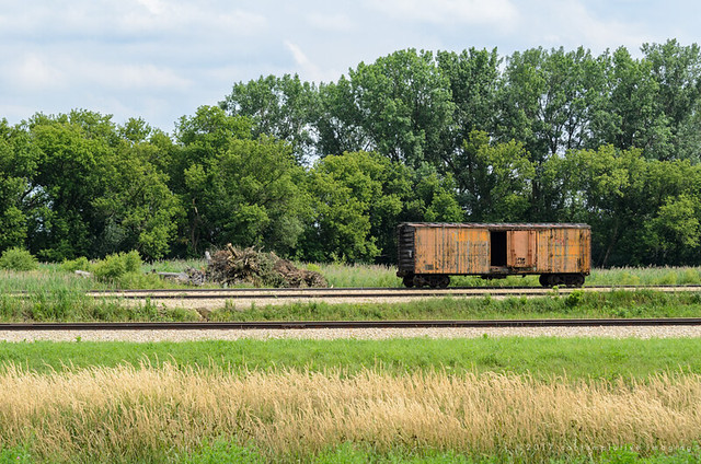 the lonely boxcar