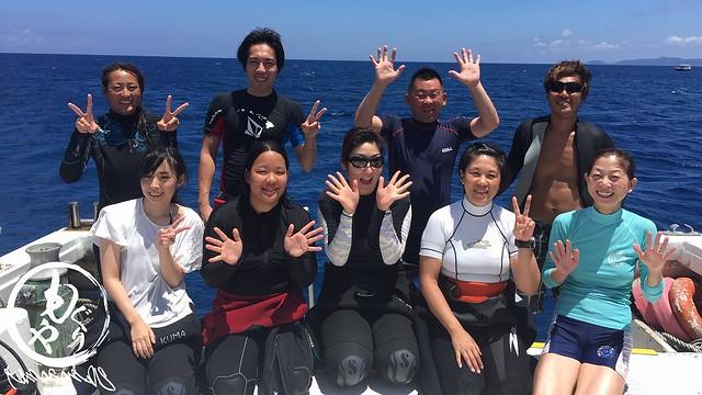 本日の集合写真♪ 2017/08/14