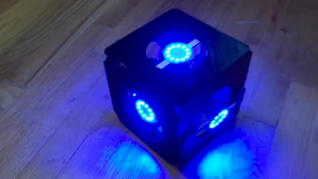 Portal Cube Light Test