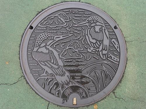 Hino Tokyo, manhole cover (東京都日野市のマンホール)