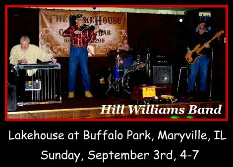 Hill Williams Band 9-3-17