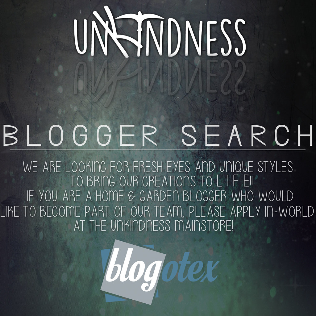unKindness Blogger Search - SecondLifeHub.com
