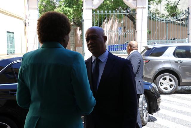 Secretária Executiva recebe Ministro dos Negócios Estrangeiros e Comunidades da República de Cabo Verde