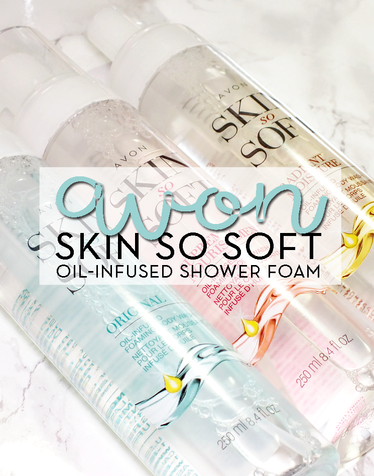 avon skin so soft oil-infused shower foam (3)