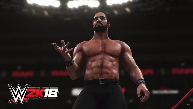 WWE 2K17 - Seth Rollins Shirtless