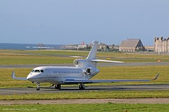 Falcon 8X M-ATEX at Isle of Man EGNS 17/08/17