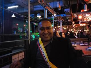 Me at Andres Carne de Res, Bogota
