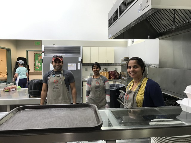 Volunteering Effort @ The Open Heart Kitchen   AFTERSHOX