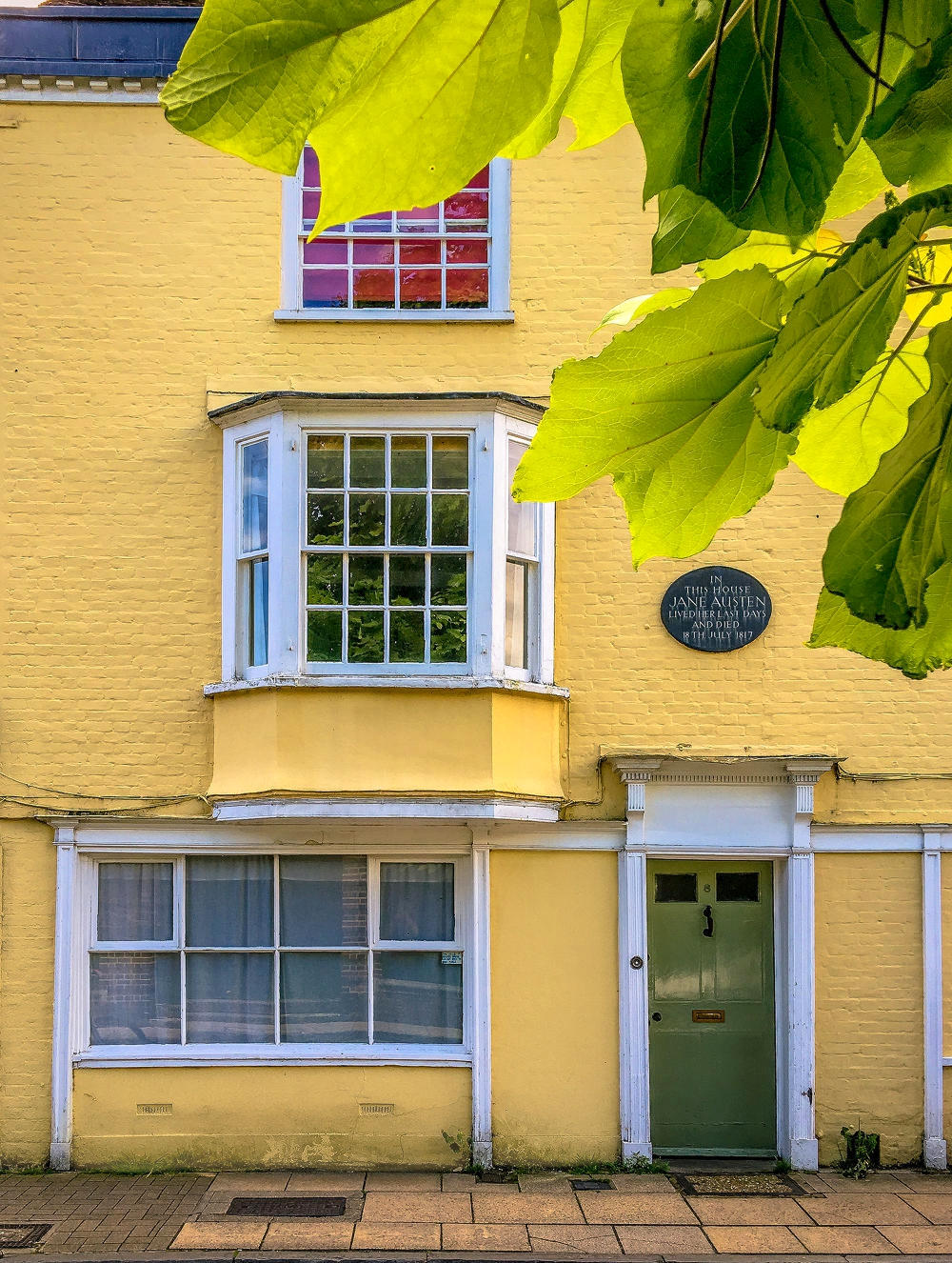 Jane Austen's house on College Street Winchester. Credit Anguskirk, flickr