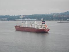 Ship in New York Harbor