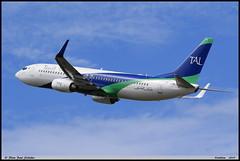 "BOEING737 8ZQ ""Tassili Airlines"" 7T-VCB 40885  Entzheim juillet 2017"