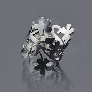 Floral Branch Ring