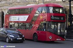 Wrightbus NRM NBFL - LTZ 1065 - LT65 - Fulham Broadway 11 - Go Ahead London - London 2017 - Steven Gray - IMG_5790