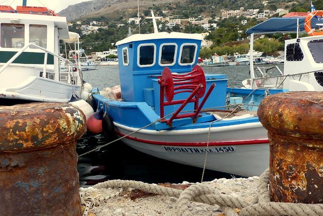 Fishing Boat - Melitsachas Harbour