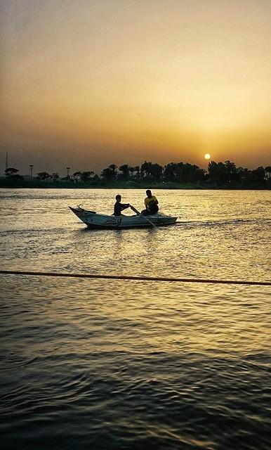 Sunset Fishing ...