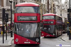 Wrightbus NRM NBFL - LTZ 1045 - LT45 - Aldwych 11 - Go Ahead London - London 2017 - Steven Gray - IMG_0251