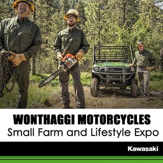 KAWASAKI DEALER EVENTS – Small Farm and Lifestyle Expo: November 4-5 2017