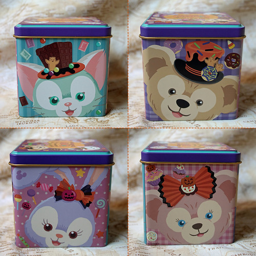Duffy and friends Halloween tin