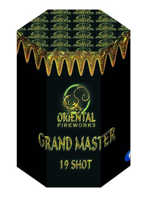 Grand Master 19 Shot Barrage #EpicFireworks
