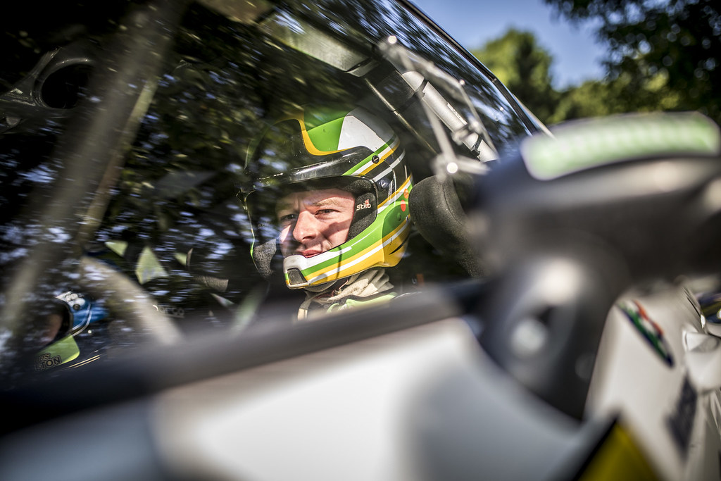 MOFFETT Josh (IRL) FULTON James (IRL) Ford Fiesta R5 ambiance portrait during the 2017 European Rally Championship ERC Barum rally,  from August 25 to 27, at Zlin, Czech Republic - Photo Gregory Lenormand / DPPI