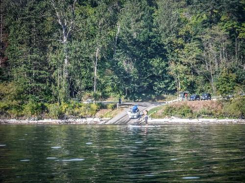 Kayaking Bellingham Bay-93