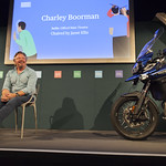 Charley Boorman (with motorbike!) |