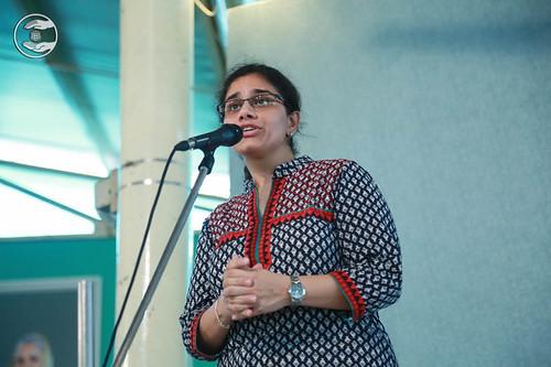 Shweta Kapoor from Safdarjang, Delhi, expresses her views