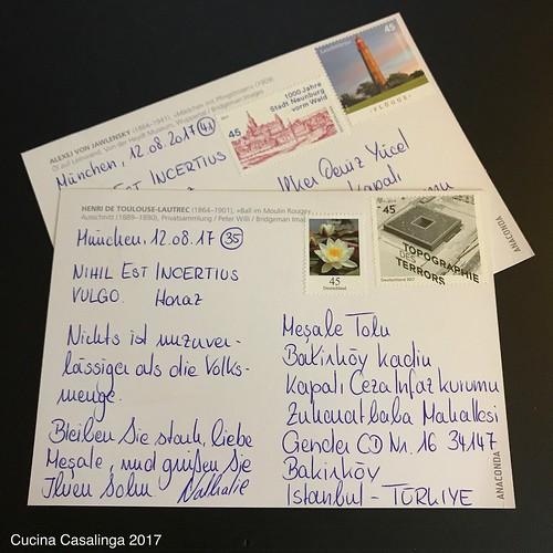 12von12 - Postkarten