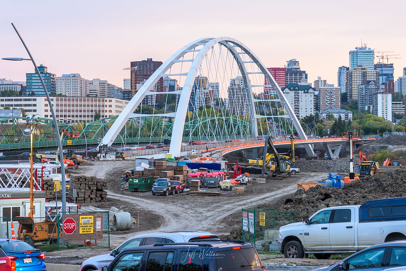 New Walterdale Bridge, Edmonton
