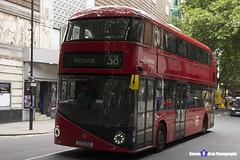 Wrightbus NRM NBFL - LTZ 1231 - LT231 - Victoria 38 - Arriva - London 2017 - Steven Gray - IMG_1115