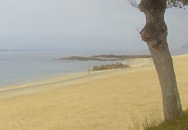 Walk across the sand