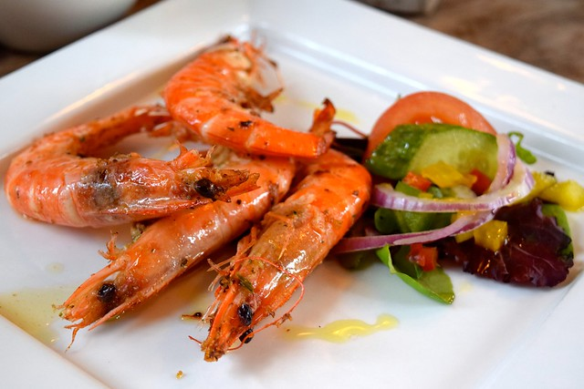 Hot Chilli Prawns at The George, Molash | www.rachelphipps.com @rachelphipps