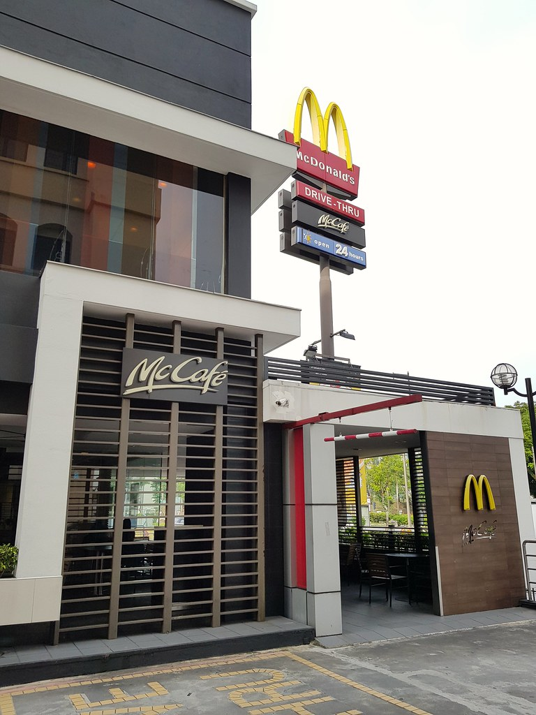 Fish-O-Fish, Hash Brown, Latte $11.95 @ McDonalds CenterPoint PJ Bandar Utama