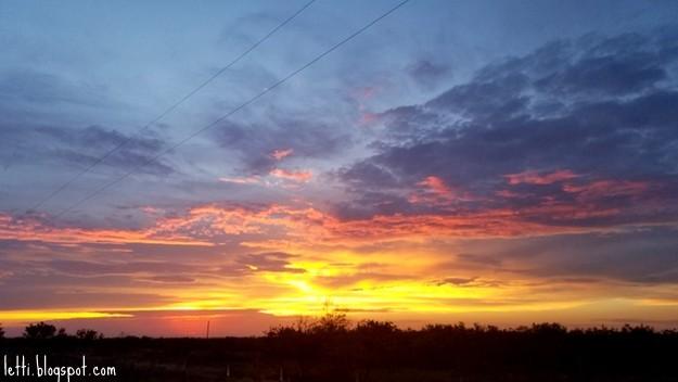 August 15 Sunset