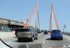Out with the old, in with the new...Kosciuszko Bridge