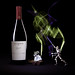 Bottles of wine from Bodega Cicchitti, Syrah 2016, Mendoza, Argentina with Yoda & General Grievous
