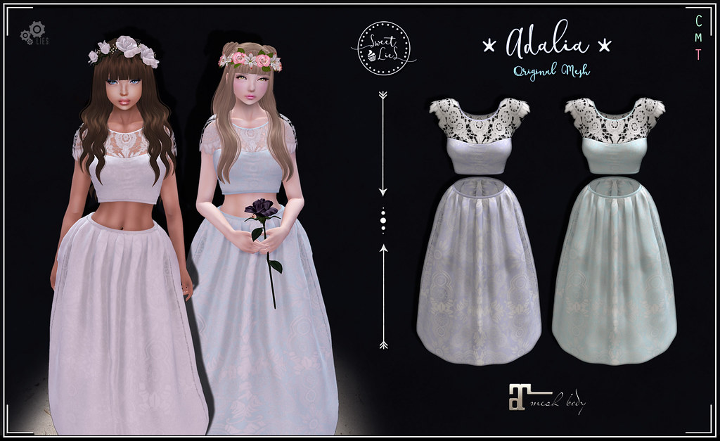 Adalia Outfit Pack #3 - Sweet Lies Original - SecondLifeHub.com