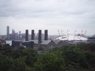 Greenwich Park: View of (Millenium-) Dome