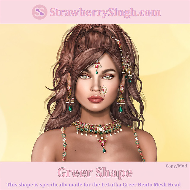 StrawberrySingh.com Greer Shape