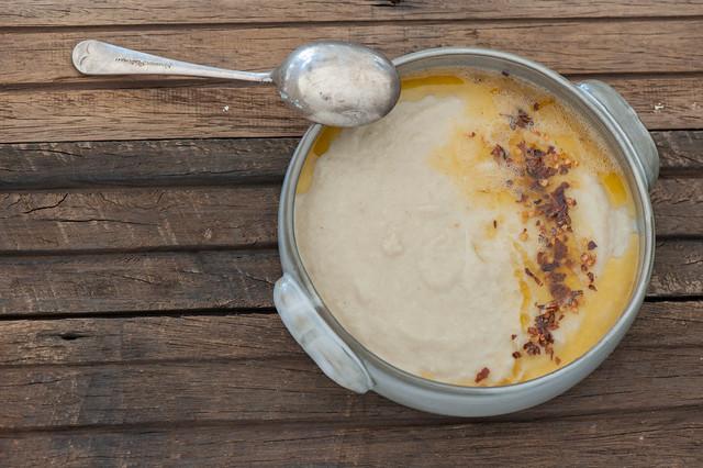 Turkish Cauliflower & Yoghurt Soup