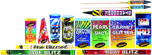 Affinity Selection Box Contents by Standard Fireworks