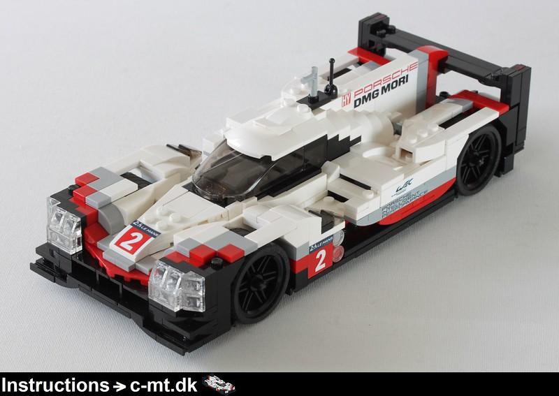 MOC] Porsche 919 Hybrid Le Mans race car in scale 1:20 - LEGO Scale