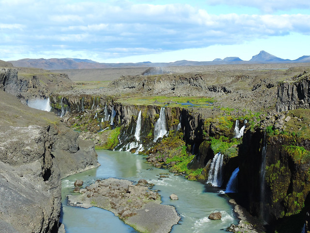 Breathtaking Canyons In Iceland: Sigöldugljúfur, Highlands, Iceland